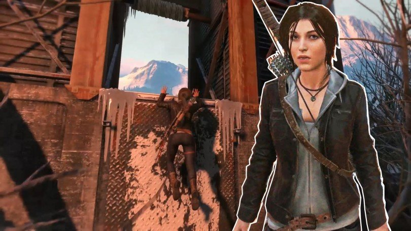 Melonie Mac Rise of the Tomb Raider gameplay