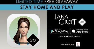 #StayHomeAndPlay: Baixe Lara Croft GO de graça para iOS e Android