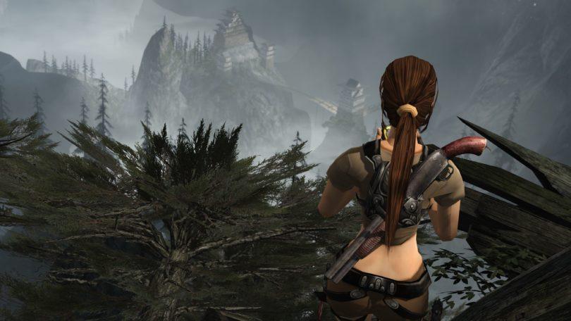 Jogue Tomb Raider (2013) com o modelo de Tomb Raider Legend