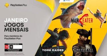 Shadow of the Tomb Raider estará gratuito na PS Plus de janeiro