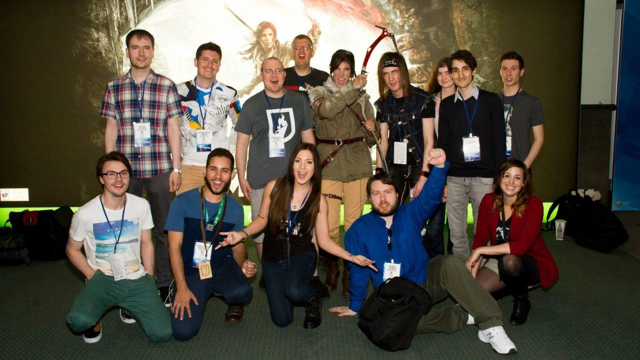 Todos os embaixadores oficiais reunidos com Meagan Marie, Jenn Croft e Melonie Mac